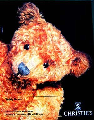 Christies teddy bear auction catalogue