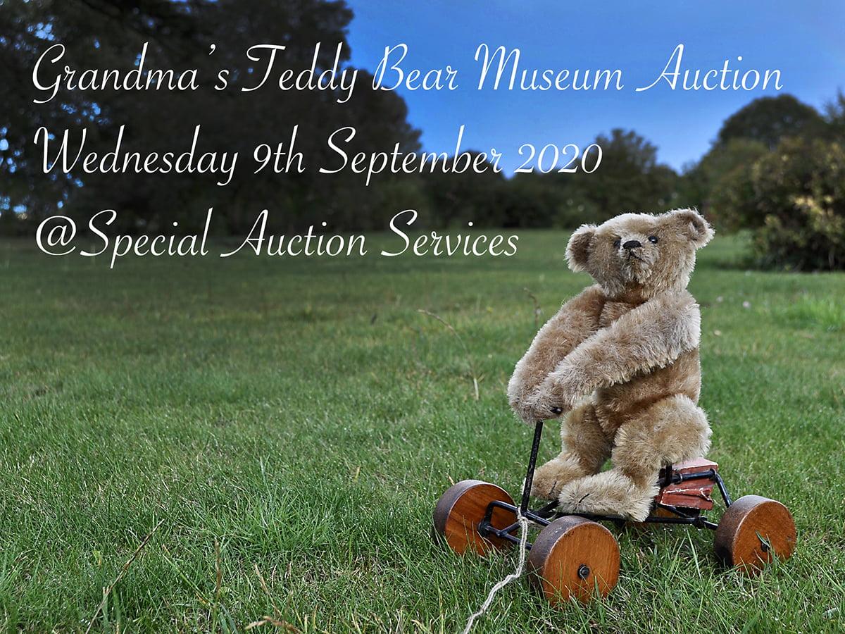 Gandmas teddy bear museum auction